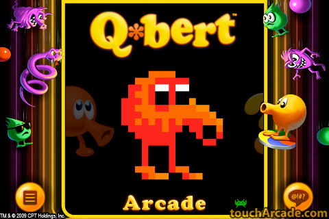 Official 'Q*Bert' Is Jumping onto the iPhone | TouchArcade
