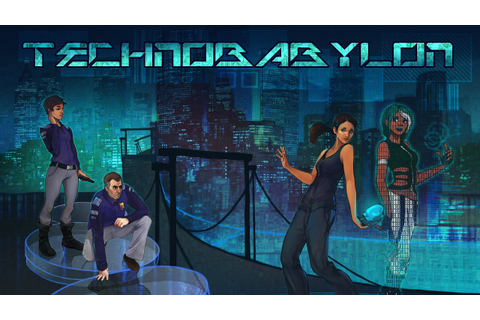 Technobabylon PC Gameplay - Intro [60FPS] - YouTube