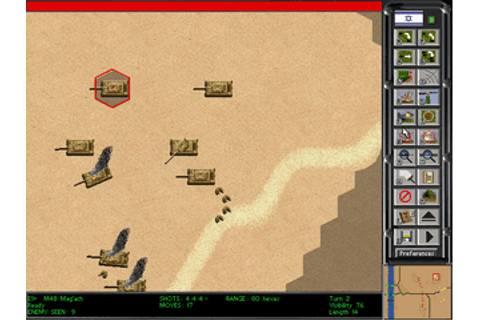 Download Steel Panthers II - Modern Battles | Abandonia