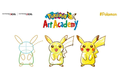 Pokemon Art Academy, The Game That Teaches You To Draw ...