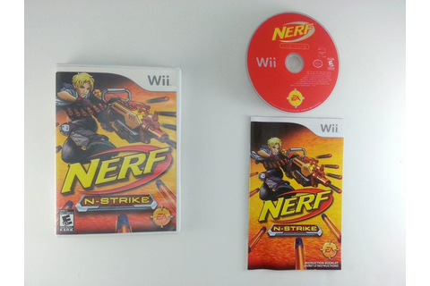 NERF N-Strike game for Wii (Complete) | The Game Guy