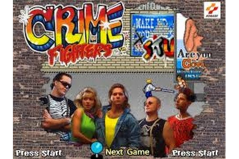 Crime Fighters (Arcade) - YouTube