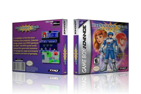 GBA Phantasy Star Collection Collector's Game by ...