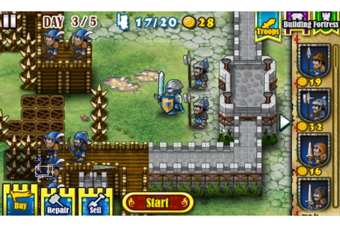 Focus On Windows Phone: Game Review: Fortress Under Siege