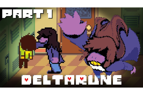 Deltarune | NEW Undertale Game - Part 1 (lets play) - YouTube