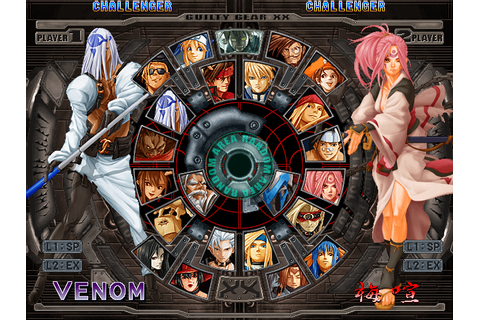 Guilty Gear X2 updated versions on Qwant Games