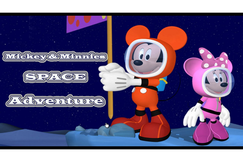 Mickey Mouse Clubhouse Games - Mickey & Minnie's Space ...