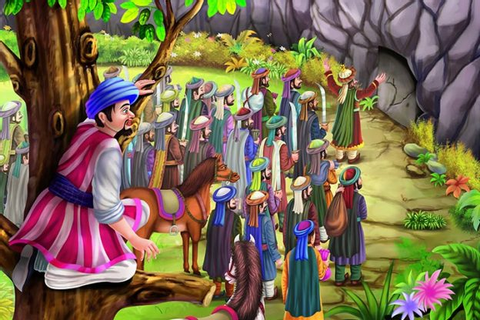 The Story Of 'Ali Baba And The Forty Thieves' For Your Kids