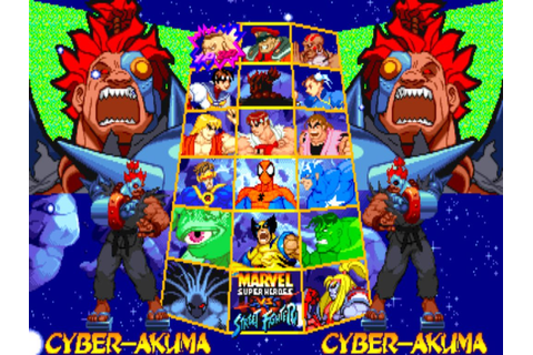 Marvel Super Heroes vs. Street Fighter [Arcade ...