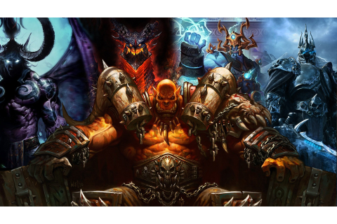 Download World Of Warcraft Warlords Of Draenor Wallpaper ...