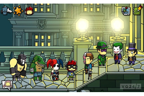 Scribblenauts Unmasked: A DC Comics Adventure announced ...