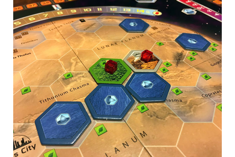 Terraforming Mars Review | Board Game Quest