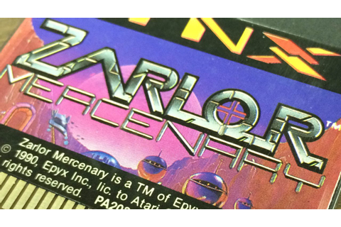 CGR Undertow - ZARLOR MERCENARY review for Atari Lynx ...