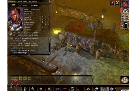 Neverwinter Nights: Shadows of Undrentide Screenshots ...
