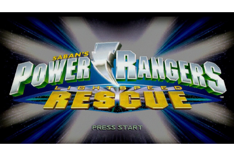 Power Rangers Lightspeed Rescue Review Game - YouTube