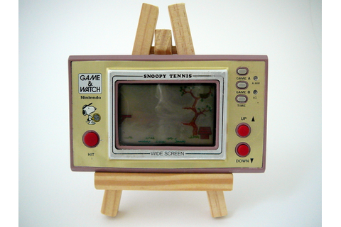 Game & Watch Snoopy Tennis WideScreen - Nintendo Museum