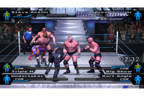 WWE SmackDown! Here Comes the Pain PS2 Gameplay HD (PCSX2 ...