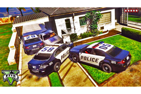 GTA 5 Funny Moments BUSTED Police Chases | Cops and ...