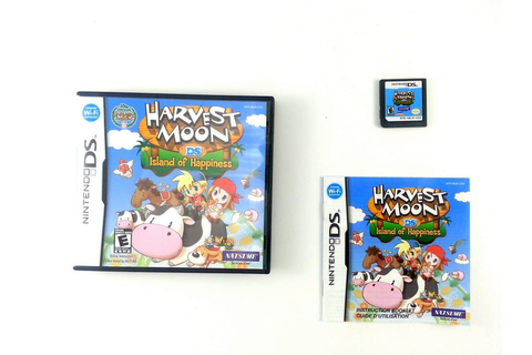 Harvest Moon Island of Happiness game for Nintendo DS ...