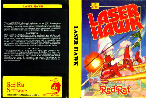 Atari 400 800 XL XE Laser Hawk : scans, dump, download ...