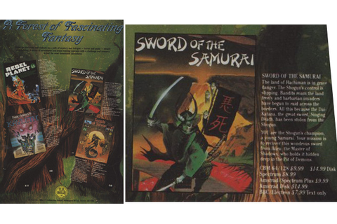Sword of the Samurai (computer game) - Titannica - the ...