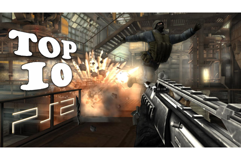 My Top 10 FPS Games for Playstation 2 - YouTube