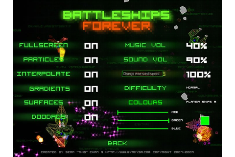 Download Battleships forever, a full free version game