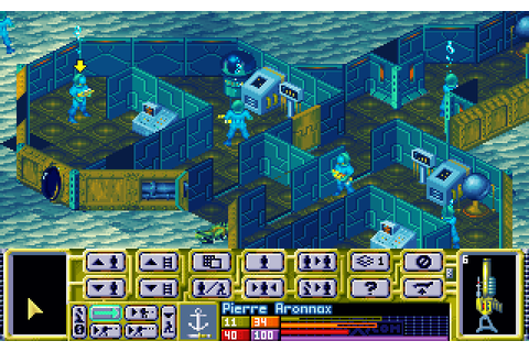 X-COM: Terror from the Deep (1995 - DOS). Ссылки, описание ...