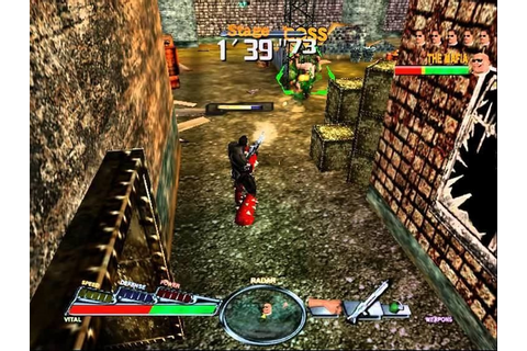 Spawn: In the Demon's Hand (2000) by Capcom Dreamcast game