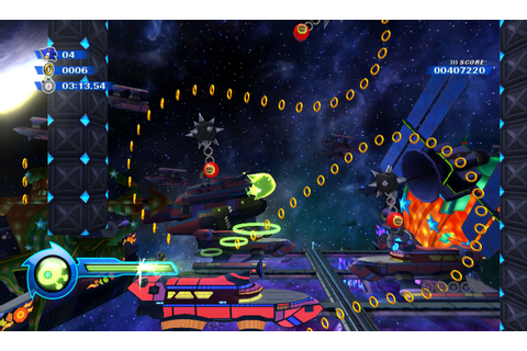 Sonic Colours' Green Wisp Art, Screens & New Video – The ...