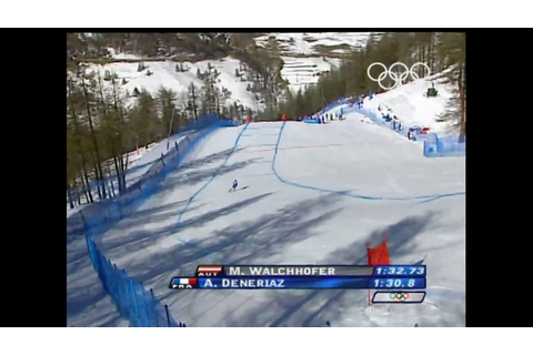 Alpine Skiing - Men's Downhill - Turin 2006 Winter Olympic ...
