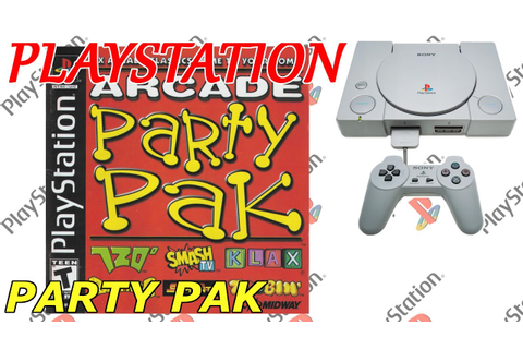 ARCADE PARTY PAK (PS1) [773] GAMEPLAY - YouTube