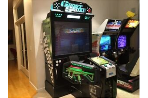 Ghost Squad Deluxe shooting arcade game | eBay
