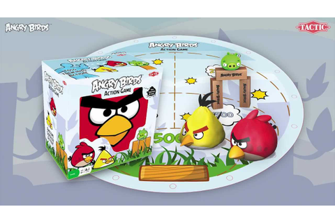 Angry Birds Action game TV commercial - YouTube