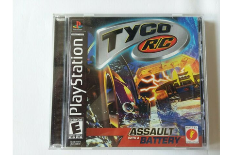 Tyco R/C: Assault With a Battery (Sony PlayStation 1, 2000 ...