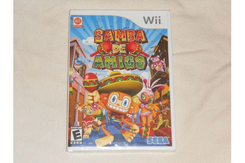 NEW Samba De Amigo Nintendo Wii Game FACTORY SEALED maraca ...