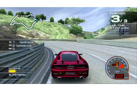 Ridge racer 7 ps3 HD reggae NOT drifting like a boss ...