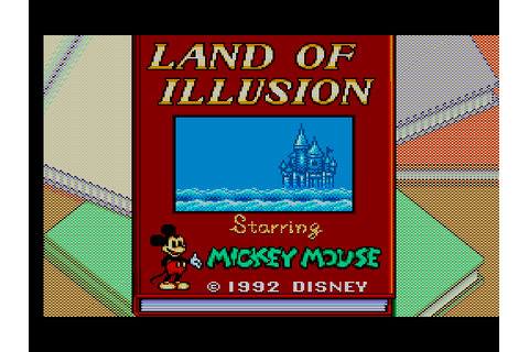 Land of Illusion Starring Mickey Mouse Screenshots ...