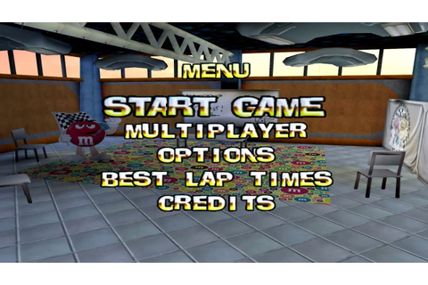M&M's Kart Racing Wii Gameplay - YouTube