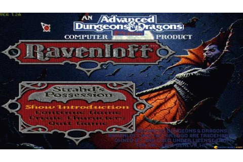 Ravenloft gameplay (PC Game, 1994) - YouTube