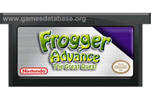 Frogger Advance: The Great Quest - Nintendo Game Boy ...