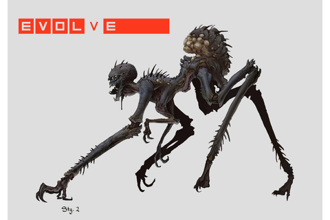 "Concept art for Gorgon, ""Whip Spider"" - General - Turtle ..."