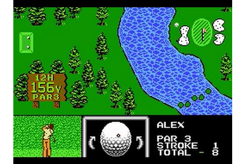 Golf Grand Slam (NES) Playthrough - NintendoComplete - YouTube