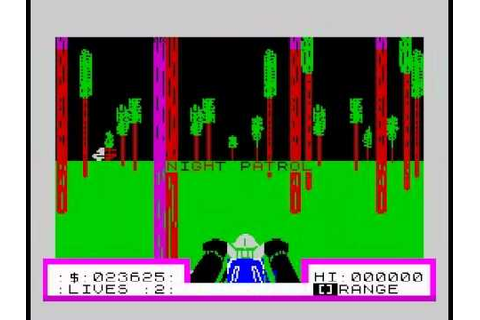 3D Deathchase Walkthrough, ZX Spectrum - YouTube