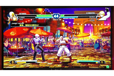 Arcade Game Play The King Of Fighters XIII Fighter! ゲーム ...