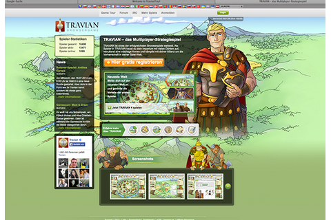 Travian 4, browser game, 2010 - 2013 on Behance