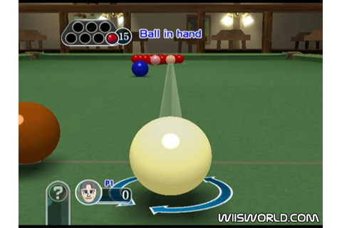 Pool Revolution: Cue Sports on WiiWare