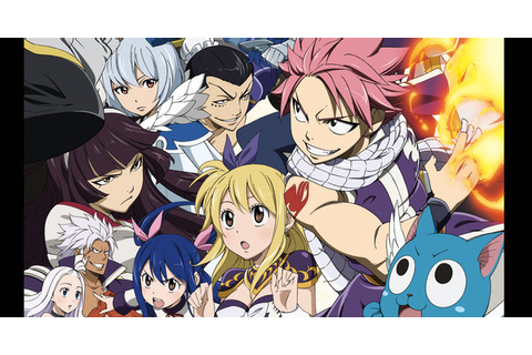Fairy Tail: The Grand Magic Games - Advertorial - Anime ...