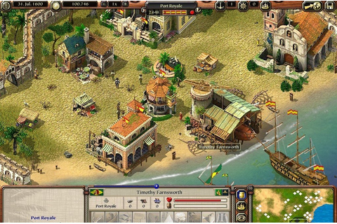 Port Royale 2 on Qwant Games