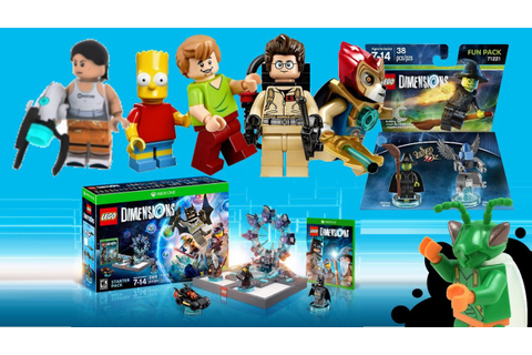 LEGO Dimensions - My Thoughts! Character conspiracy ...